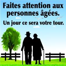 Attention aux personnes âgées