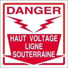 Haut voltage ligne souterraine