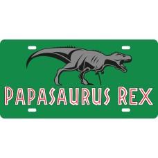 Plaque d'auto Papasauruse